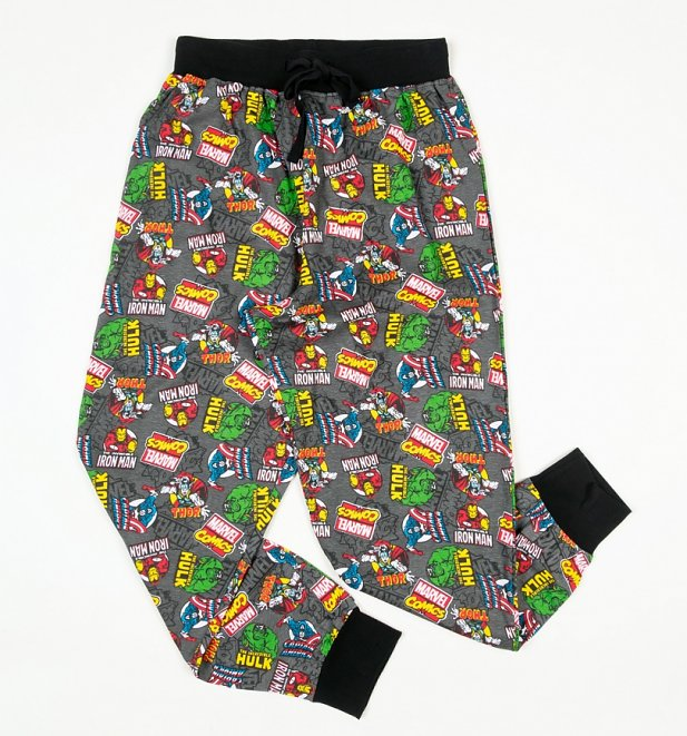 Marvel Superheroes Cuffed Loungepants