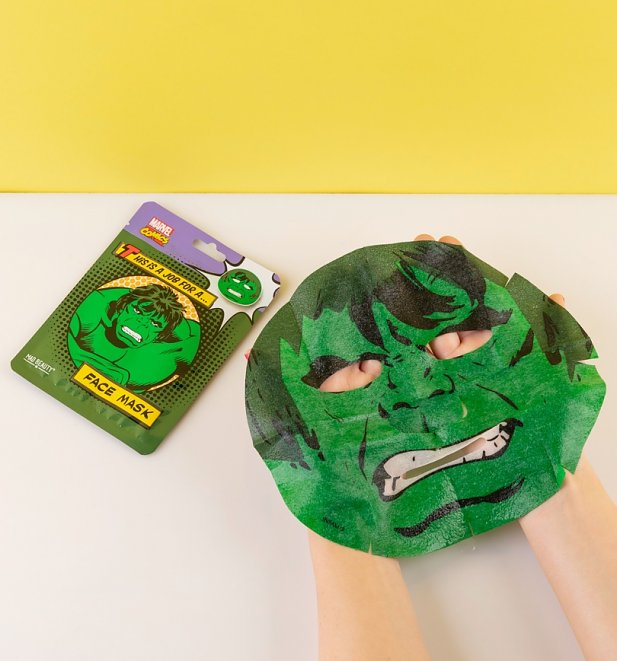 Marvel The Incredible Hulk Sheet Face Mask from Mad Beauty