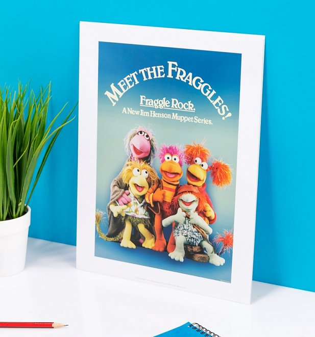 Meet The Fraggles Art Print