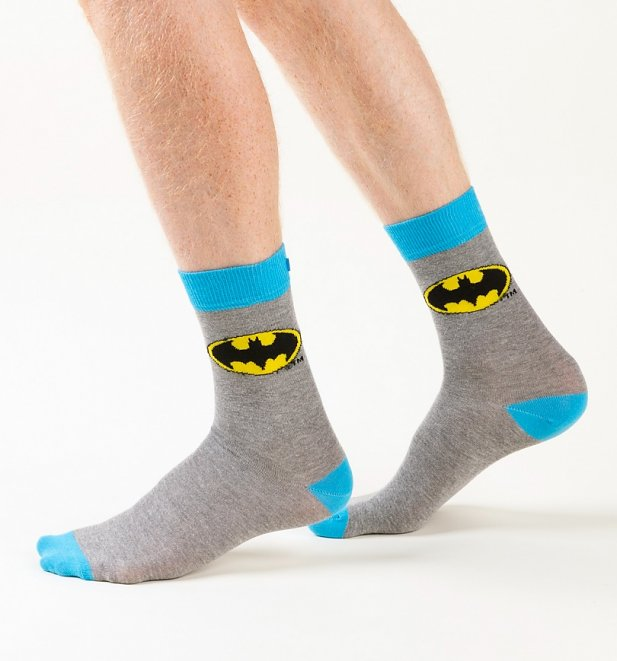 Men's 2pk DC Comics Batman Socks