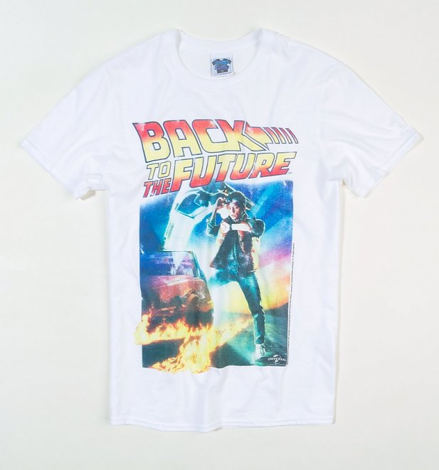 Men's Back to the Future Movie Poster T-Shirt