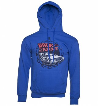 Men's Back to the Future Retro Delorean Hoodie