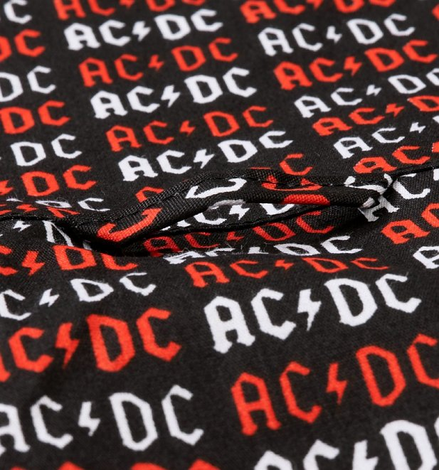 Men's Black AC/DC Short Sleeve Shirt