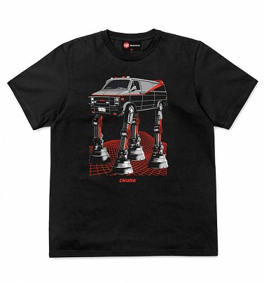 Men's Black AT-AT Team Van T-Shirt from Chunk