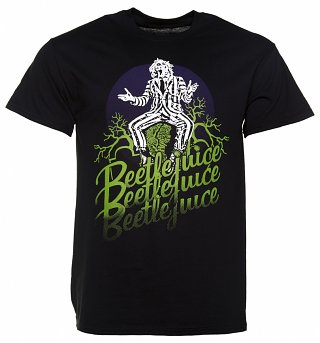 Men's Black Beetlejuice T-Shirt