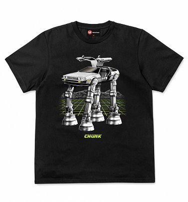 Men's Black Future Wars T-Shirt from Chunk