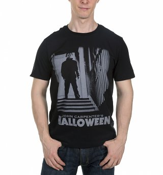 Men's Black John Carpenter's Halloween T-Shirt