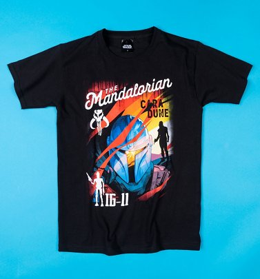 Men's Black Mandalorian T-Shirt