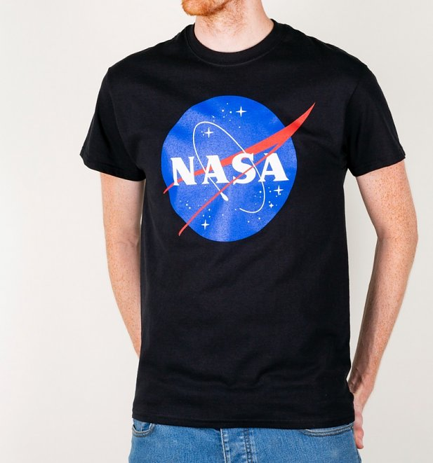 Black NASA T-Shirt
