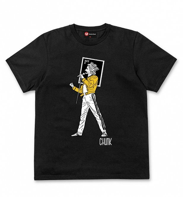 Men's Black Queen's Head T-Shirt from Chunk