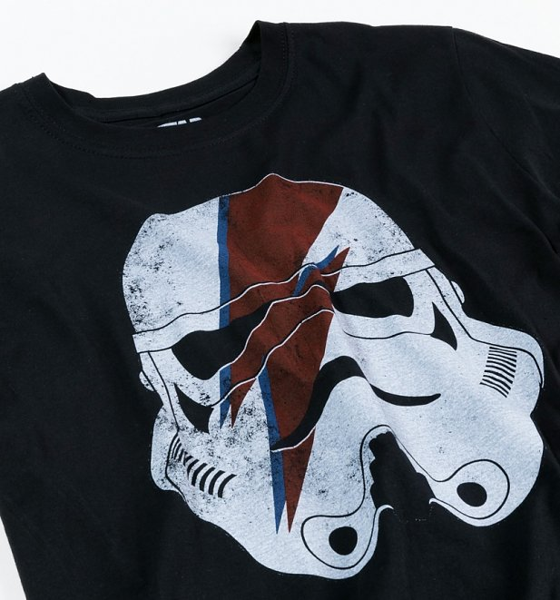 Men's Black Stormtrooper Bolt Star Wars T-Shirt