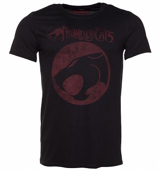 Men's Black ThunderCats Logo T-Shirt