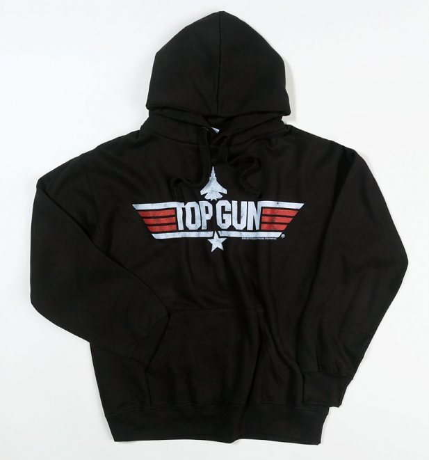 Men's Black Top Gun Maverick Hoodie