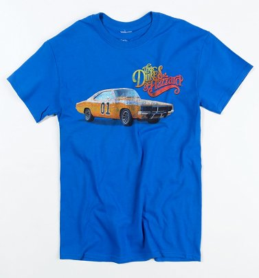 Men's Blue Dukes of Hazzard T-Shirt