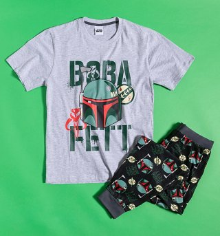 Men's Boba Fett Star Wars Pyjamas