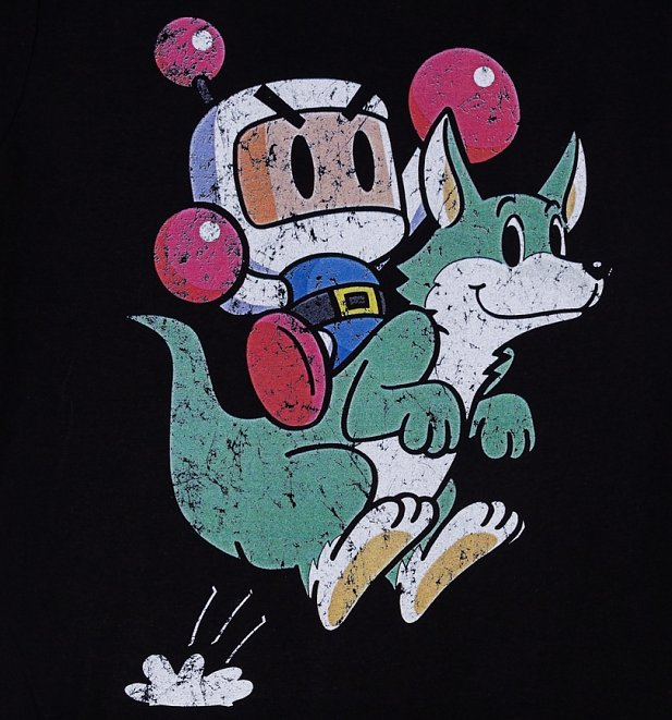 Men's Bomberman Konami T-Shirt