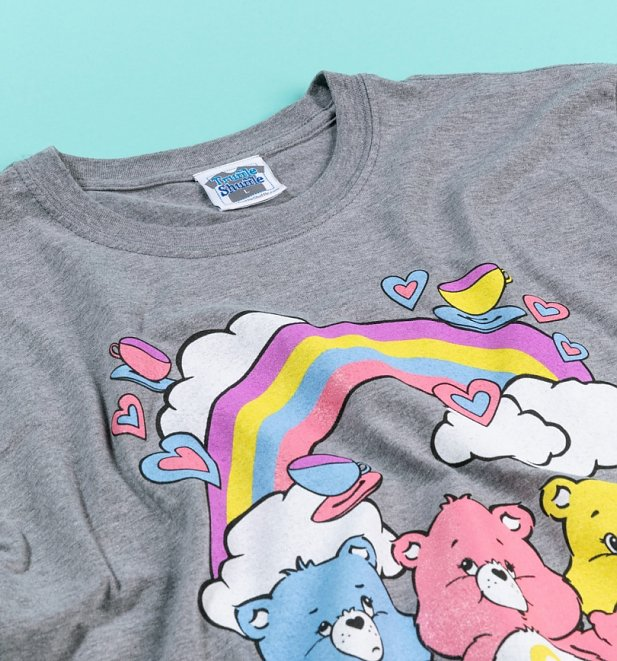 Men's Care Bears Hearts and Tea Cups T-Shirt