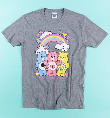 Men's Care Bears Hearts and Tea T-Shirt