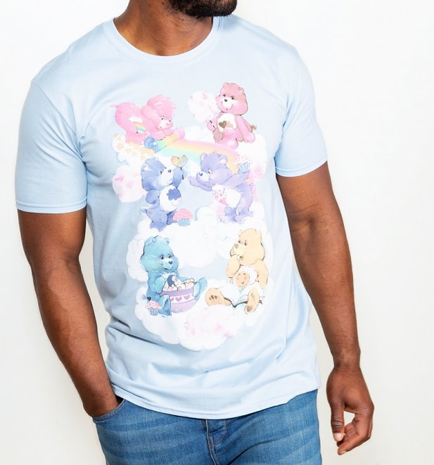 Men's Care Bears Sweet Treats Clouds T-Shirt