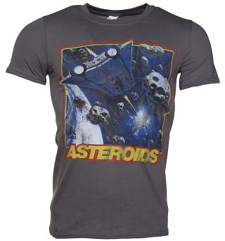 Men's Charcoal Atari Asteroids T-Shirt