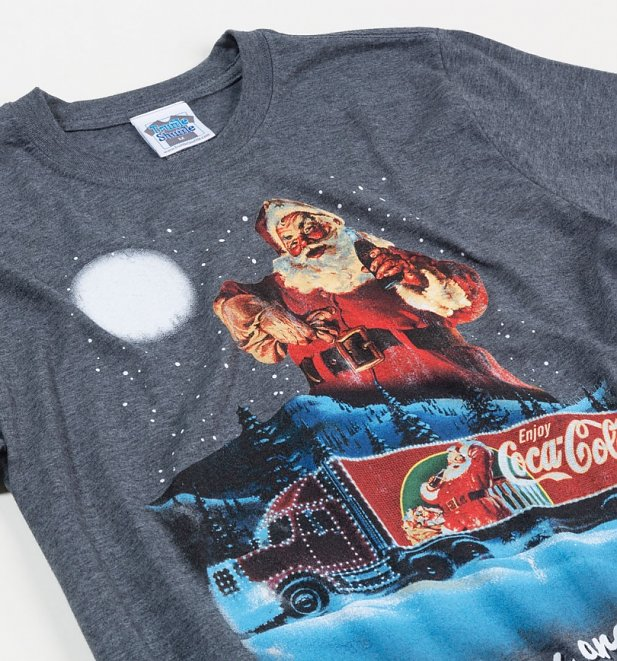 Men's Coca-Cola Holidays Are Coming Christmas T-Shirt