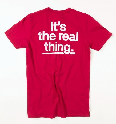 Men's Coca-Cola It's The Real Thing Red T-Shirt
