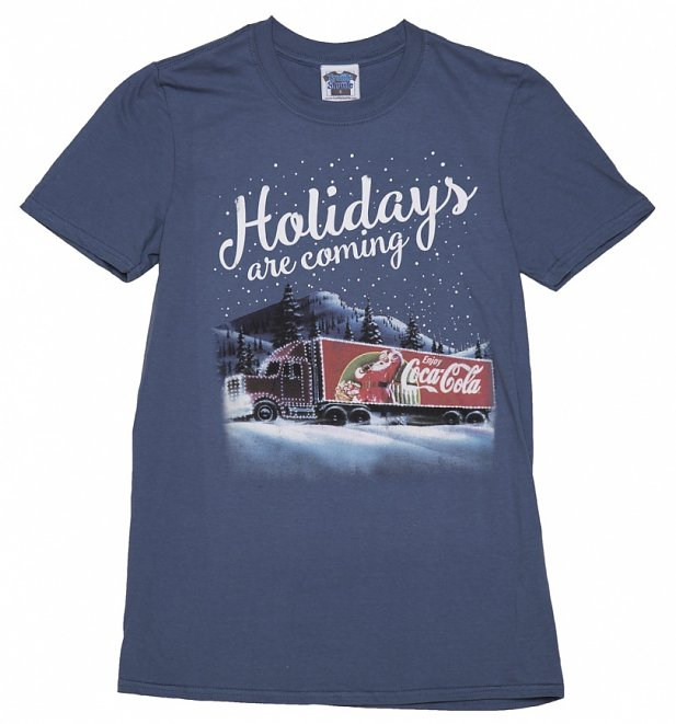 Men's Coca-Cola Truck Holidays Are Coming T-Shirt