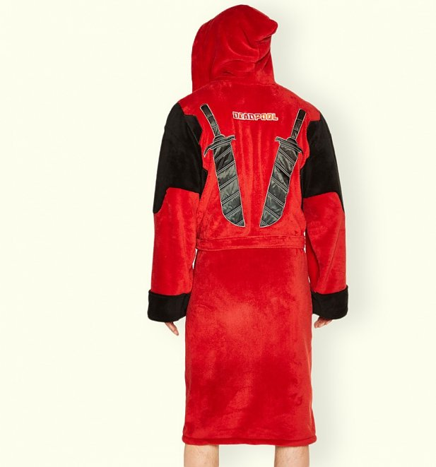 Men's Deadpool Dressing Gown