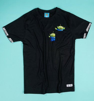 Men's Disney Pixar Toy Story Aliens Pocket Tee from Hype