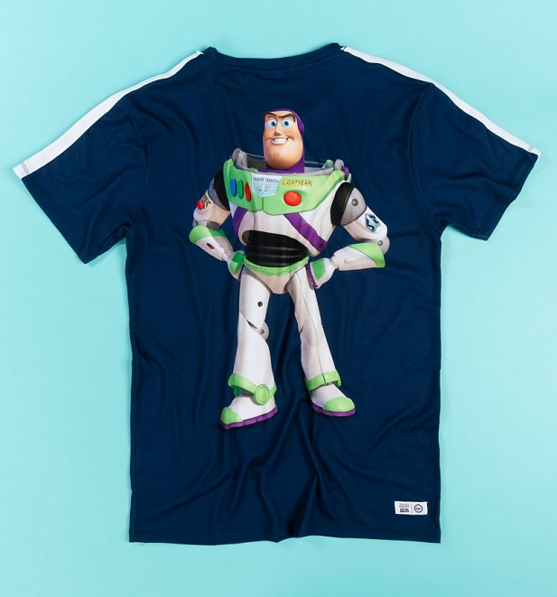 Men's Disney Pixar Toy Story Buzz Lightyear Back Print T-Shirt from Hype