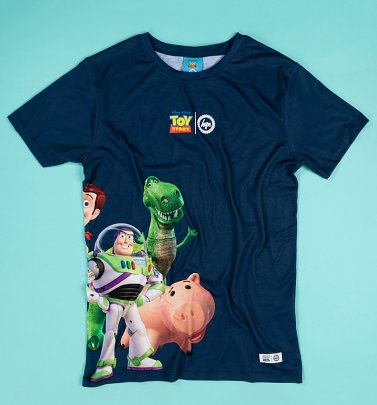 Men's Disney Pixar Toy Story Side Squad T-Shirt from Hype