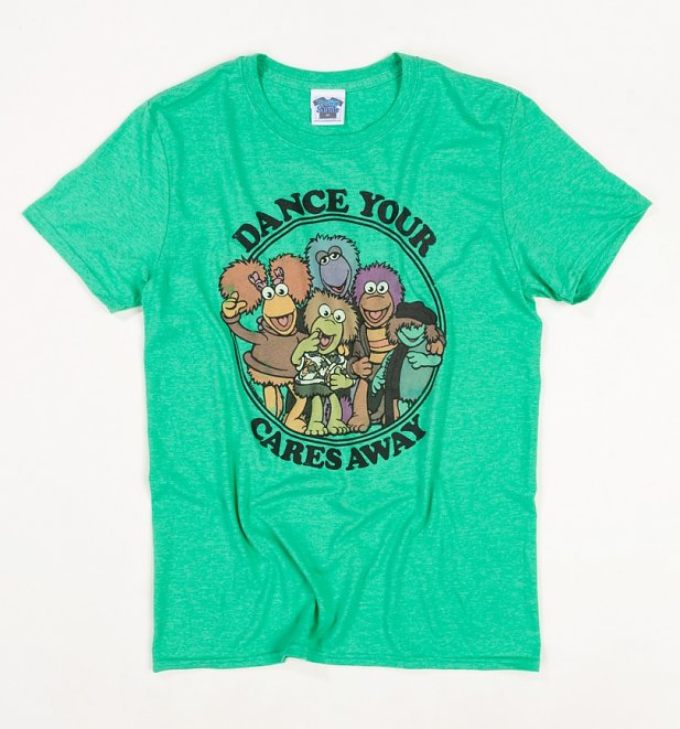 Men's Fraggle Rock Dance Your Cares Away T-Shirt