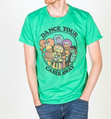 """Dance Your Cares Away"" T-Shirt Herren - Die Fraggles"