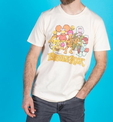 Men's Fraggle Rock Group Natural T-Shirt