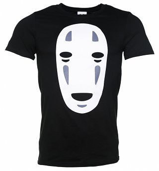 Men's Ghibli No Face Inspired Black T-Shirt