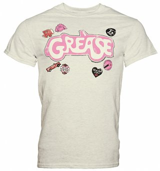 Men's Grease Badges T-Shirt
