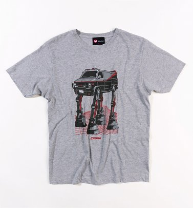 Men's Grey AT-AT Team Van T-Shirt from Chunk