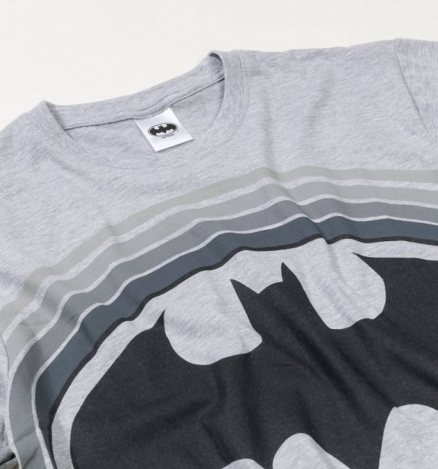 Men's Grey Batman Logo Pyjamas