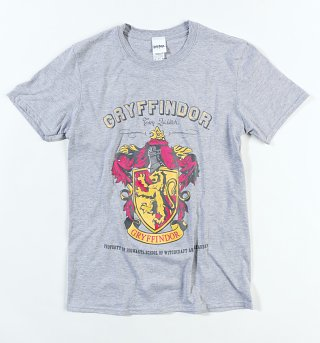 Men's Grey Harry Potter Gryffindor Team Quidditch T-Shirt