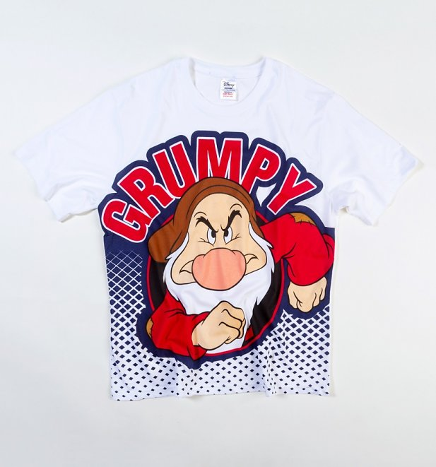 Men's Grumpy Face Seven Dwarfs Pyjamas