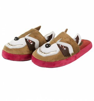 Men's Guardians Of The Galaxy Rocket Raccoon Slip On Slippers