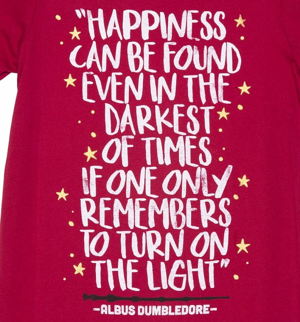 Men's Harry Potter Happiness Can Be Found T-Shirt