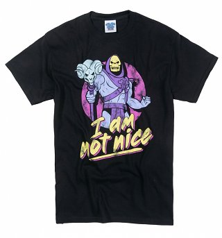 Men's Heavyweight Skeletor I Am Not Nice T-Shirt
