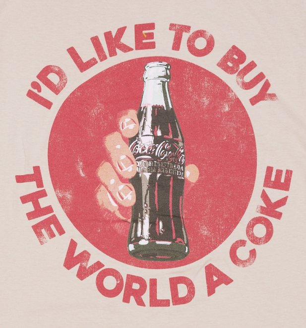 Men's I'd Like To Buy The World a Coke T-Shirt
