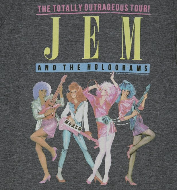 Men's Jem And The Holograms Tour T-Shirt