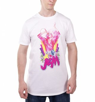 Men's Jem Centre Stage White T-Shirt