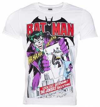 Men's Joker's Back In Town DC Comics T-Shirt