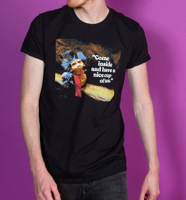 Men's Labyrinth Worm Quote Black T-Shirt