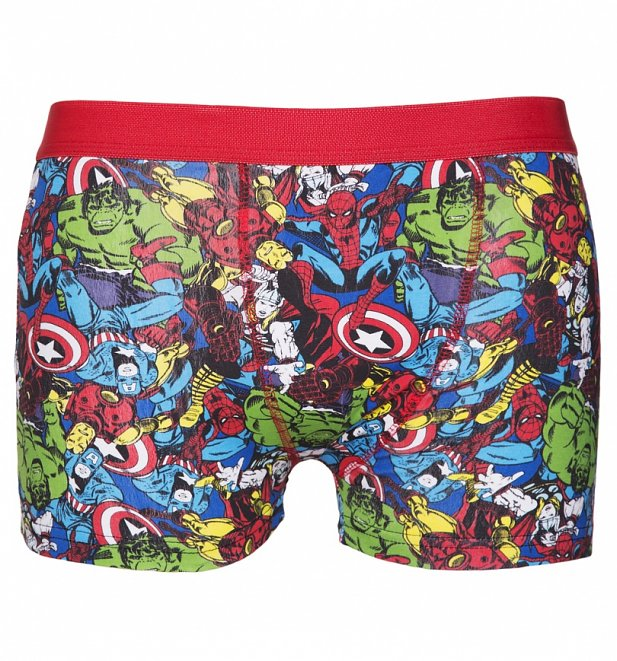 Men's Marvel Comics 2 Pack Boxer Shorts