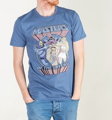 Men's Masters Of The Universe Blue T-Shirt